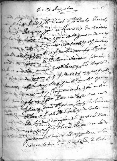ASR, TNC, uff. 11, 1600, pt. 2, vol. 46, fol. 446r