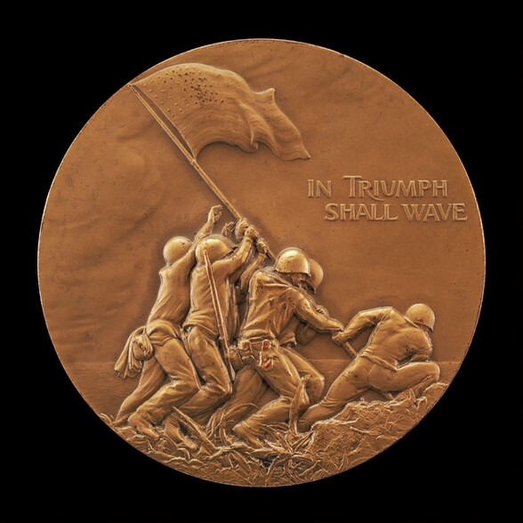 Commemoration of the Flag-Raising on Mt. Surabachi, Iwo Jima [obverse]