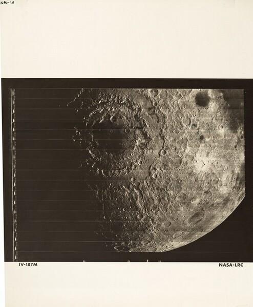 Lunar Orbiter, Medium Resolution, LOIV M-187