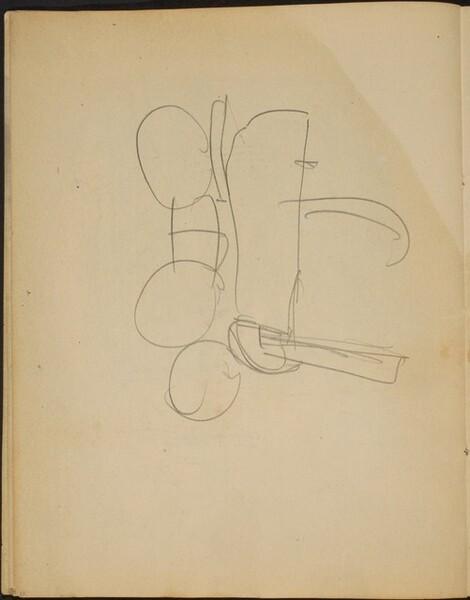 begonnene Skizze (Sketch) [p. 10]