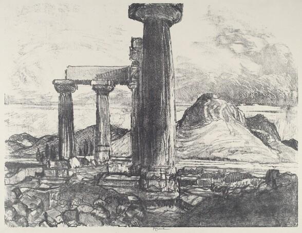 Acro, Corinth from Corinth
