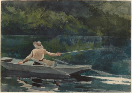 Winslow Homer, Casting, Number Two, 1894