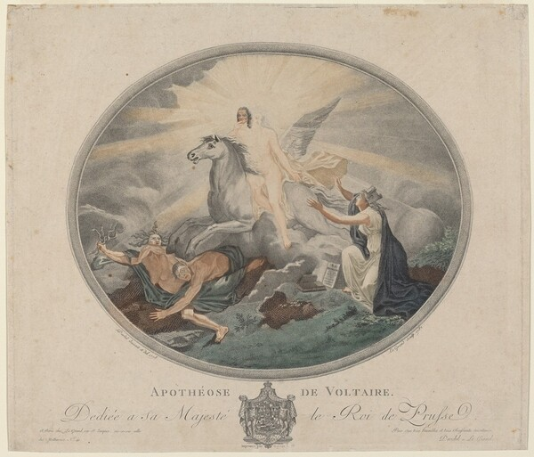 Apothéose de Voltaire (The Apotheosis of Voltaire)