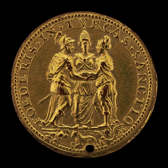Alliance of the Papacy, Spain, and Venice [reverse]