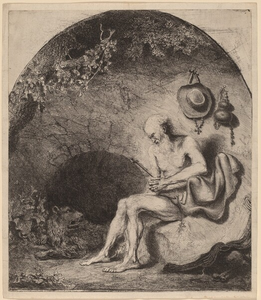 Saint Jerome in the Cave