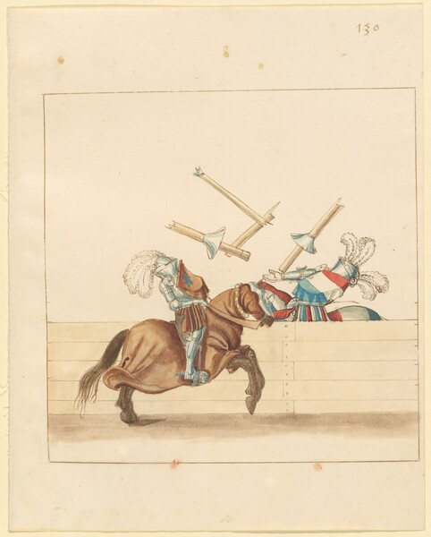 Freydal, The Book of Jousts and Tournament of Emperor Maximilian I: Combats on Horseback (Jousts)(Volume II): Plate 118