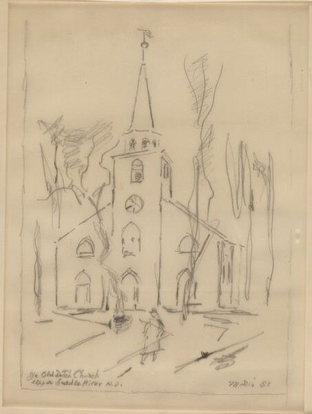 Ye Old Dutch Church, Upper Saddle River, New Jersey