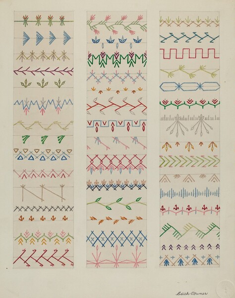 Samples of Stitching