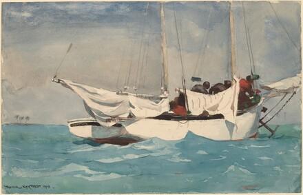 Winslow Homer, Key West, Hauling Anchor, 1903