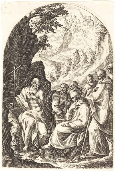 Saint Jerome Instructing his Disciples in the Desert