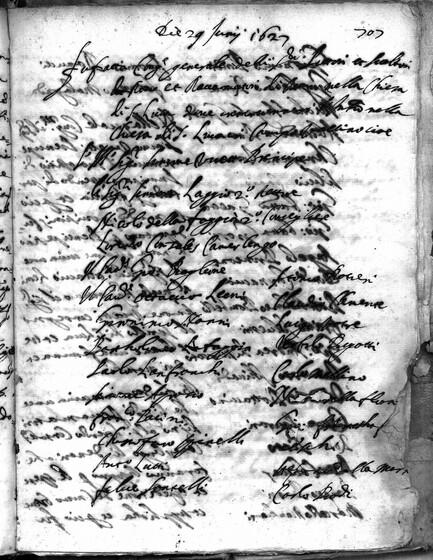 ASR, TNC, uff. 15, 1627, pt. 2, vol. 112, fol. 707r