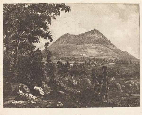 Landeskrone Mountain near Görlitz