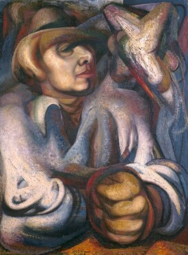 David Alfaro Siqueiros, Self-Portrait, 19481948