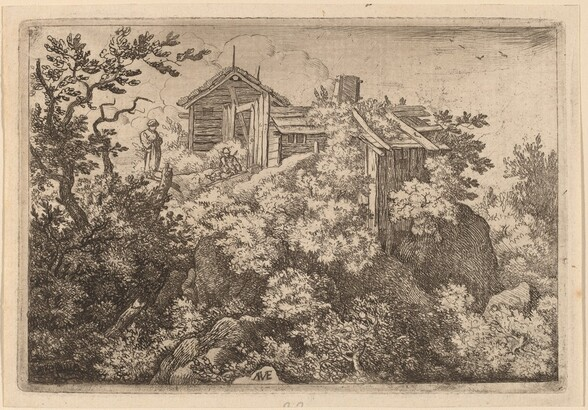Three Cottages on a Rock