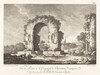 Vue de Ruines et de fragments de Construction antique...de l'ancienne Capoue