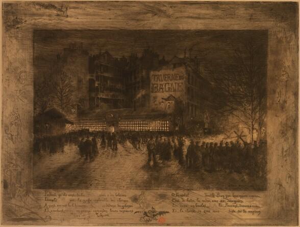 La Place des Martyrs et la Taverne du Bagne