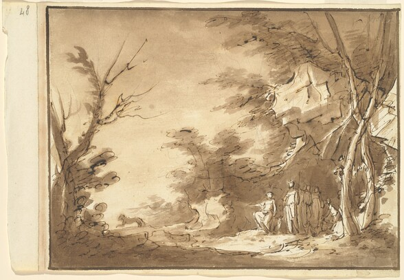 Diana and Her Companions in a Landscape