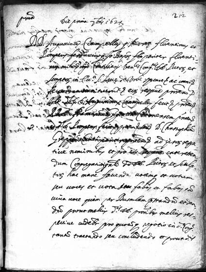 ASR, TNC, uff. 15, 1624, pt. 3, vol. 101, fol. 212r
