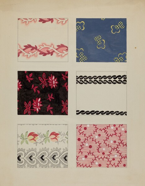 Materials from Quilt