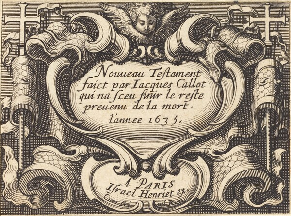 Frontispiece for Callot