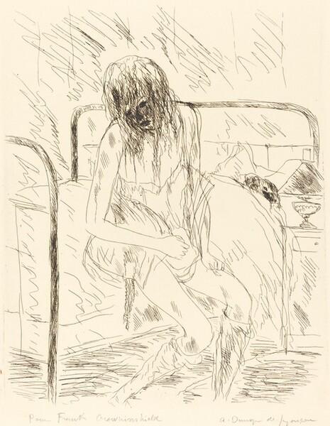The Prostitute Returns Worn Out to Bubu (La fille publique rentre epuisee pres de Bub