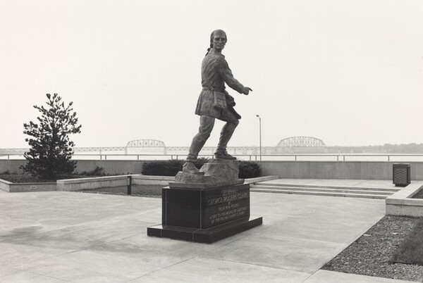 General George Rogers Clark. Louisville, Kentucky