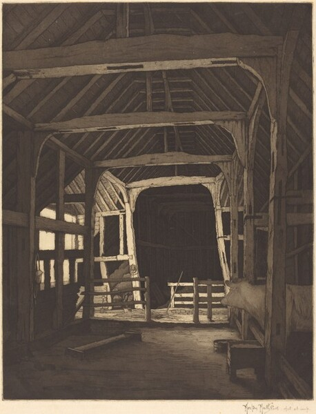 Stanstead Hall Barn