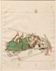Freydal, The Book of Jousts and Tournaments of Emperor Maximilian I: Combats on Horseback (Jousts)(Volume I): Plate 7