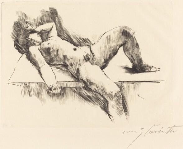 Liegender Weiblicher Akt III (Reclining Female Nude III )