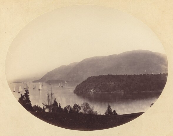 From Trophy Point, West Point, Hudson River