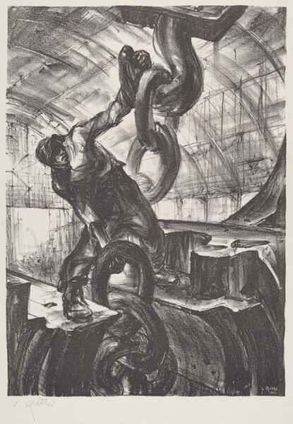 Untitled (worker with hook)