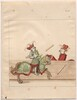 Freydal, The Book of Jousts and Tournament of Emperor Maximilian I: Combats on Horseback (Jousts)(Volume II): Plate 94