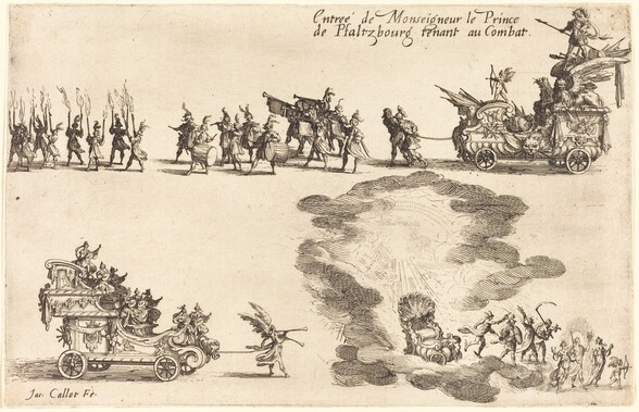 Entry of the Prince of Pfaltzbourg