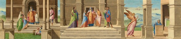 The Presentation and Marriage of the Virgin, and the Annunciation