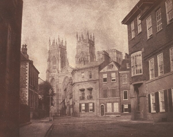 A Scene in York: York Minster from Lop Lane