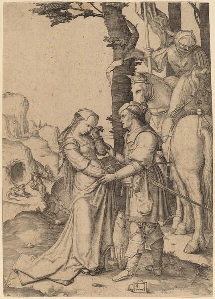 Saint George Liberating the Princess