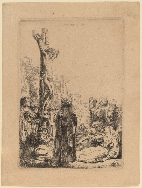The Crucifixion: Small Plate