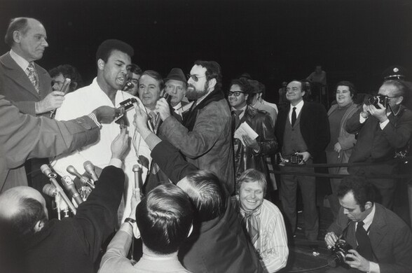 Muhammad Ali--Oscar Bonavena Press Conference, New York City
