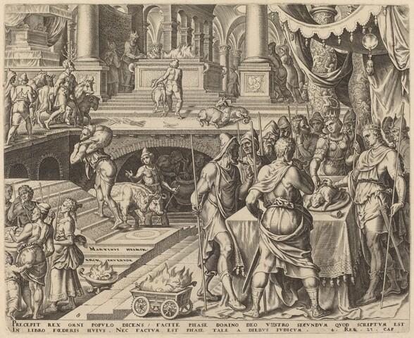 Josiah Celebrating Passover