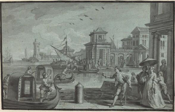 Venetian Fantasy with the Dogana