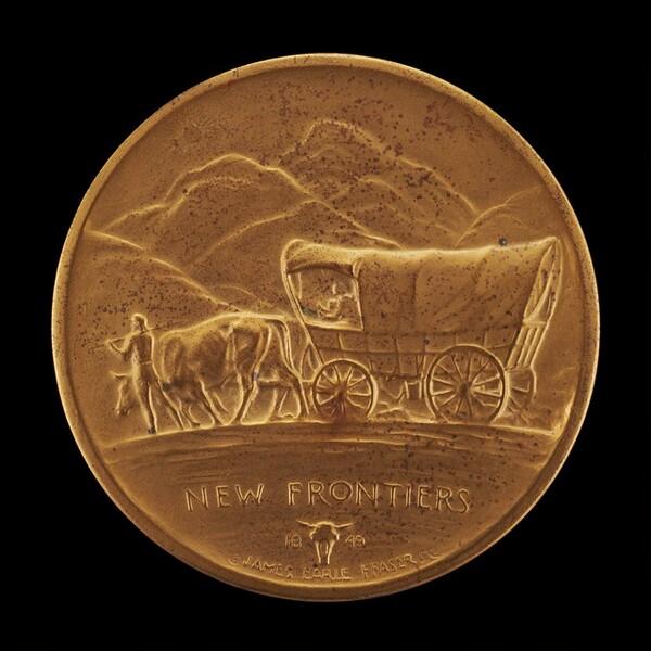 New Frontiers (Prairie Schooner) [reverse]
