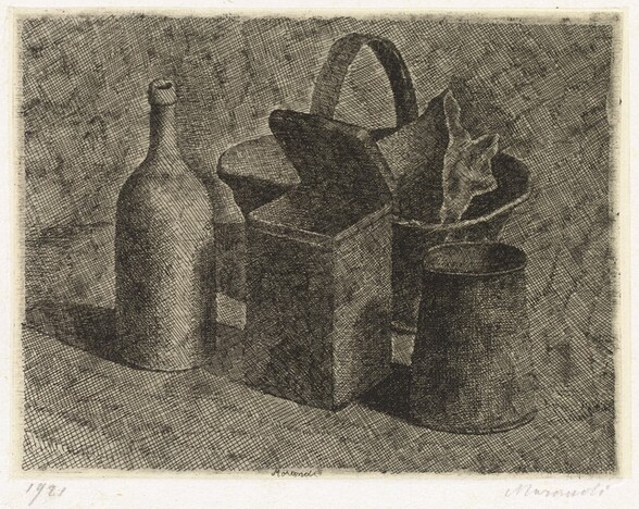 Still Life with a Basket of Bread