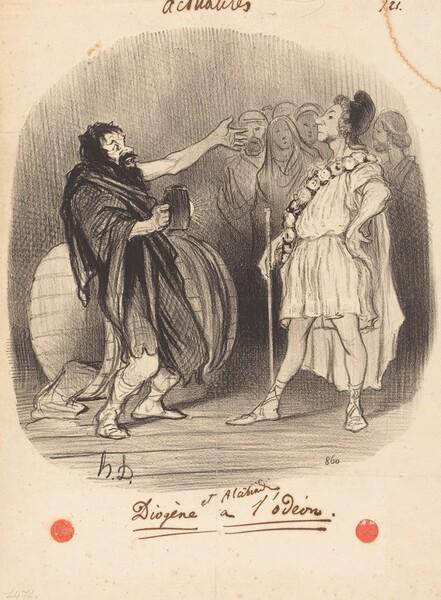 Diogène et Alcibiade a l