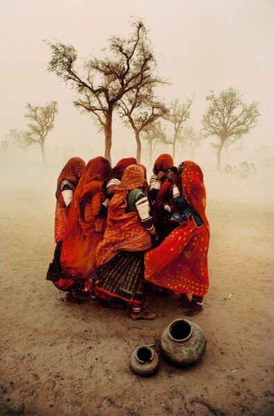 Dust Storm. Rajasthan, India