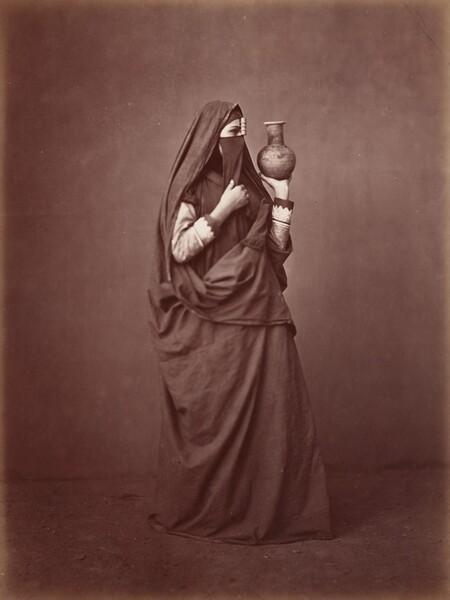 Portrait of an Egyptian Woman