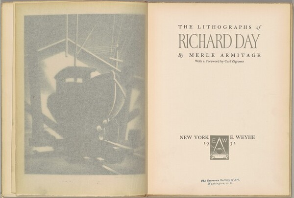 The Lithographs of Richard Day