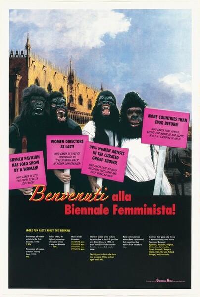 Benvenuti alla Biennale Femminista!