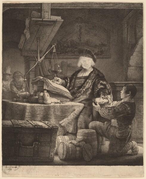 Jan Uytenbogaert, The Goldweigher