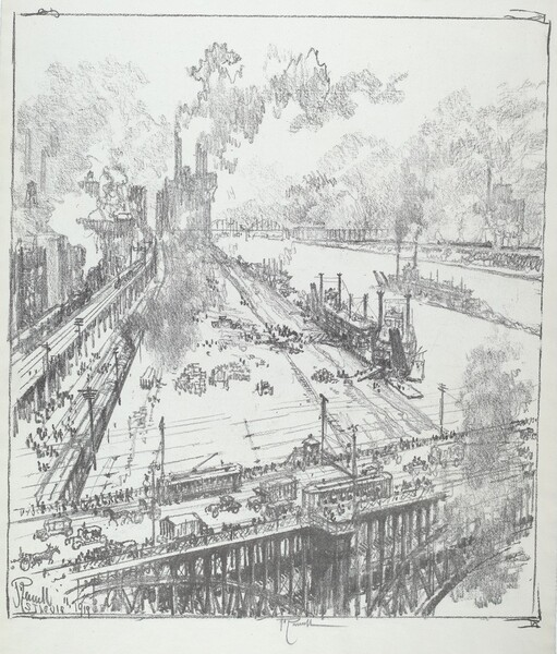 The Levee from Eads Bridge, St. Louis