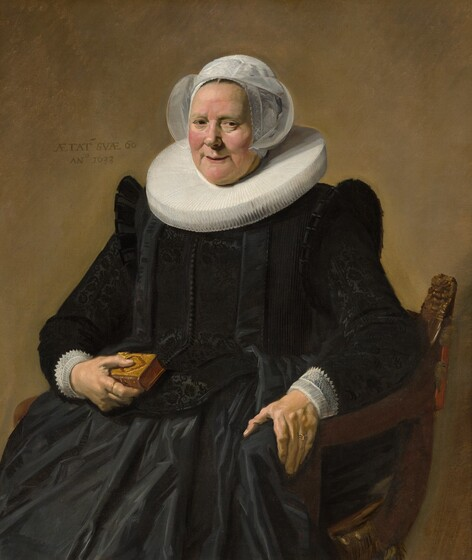 Frans Hals, Portrait of an Elderly Lady, 1633